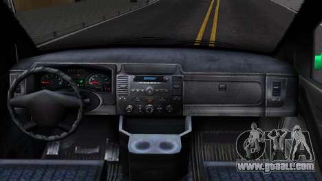 GTA V Vapid Clown Van for GTA San Andreas inner view