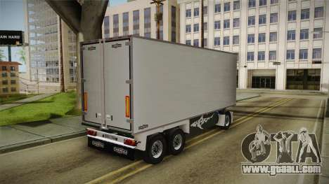 Iveco Eurotech 400E34 Tandem v2.0 Trailer for GTA San Andreas right view
