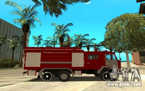 KAMAZ 6520 for GTA San Andreas