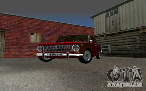 VAZ 2101 GVR for GTA San Andreas