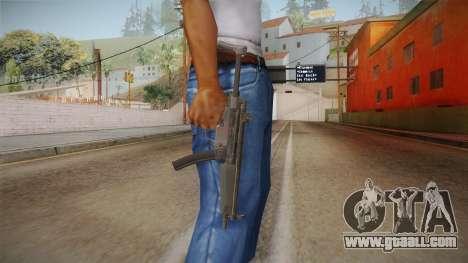 CoD 4: MW Remastered MP5 for GTA San Andreas third screenshot