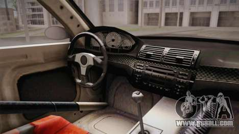NFS: MW - BMW M3 GTR (E46) Hidden Vinyl Version for GTA San Andreas inner view