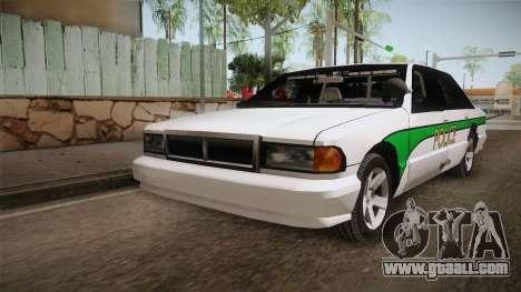 Declasse Premier 1993 Angel Pine Police for GTA San Andreas