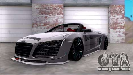 Audi R8 Spyder 5.2 V10 Plus LB Walk DiCe for GTA San Andreas