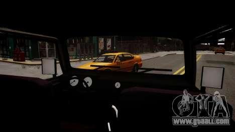 Suzuki Samurai v1.0 for GTA 4 inner view