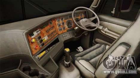 Freightliner Argosy 8x4 Hatsune Miku for GTA San Andreas inner view