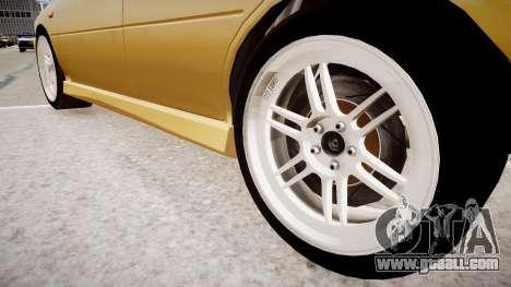 Subaru Impreza GC8 JDM Spec for GTA 4 back view