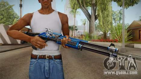 Vindi Halloween Weapon 8 for GTA San Andreas