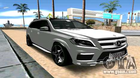 Mercedes-Benz GL63 AMG for GTA San Andreas right view