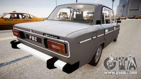 VAZ 2106 Stock for GTA 4 back left view