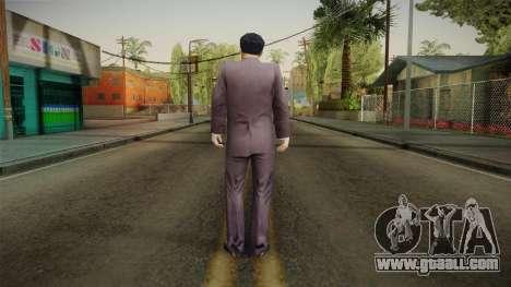 Mafia - Paulie Normal Suit for GTA San Andreas third screenshot