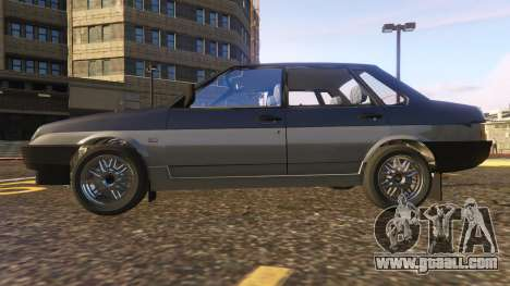 GTA 5 VAZ-21099 left side view