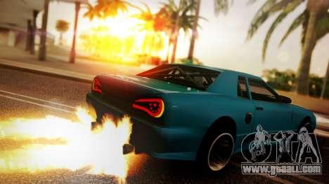 Elegy Hellcat 2.0 for GTA San Andreas left view