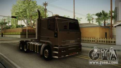 Iveco EuroTech 400E34 Tractor 6x4 v3.1 Final for GTA San Andreas right view