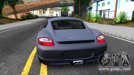 Porsche Cayman S 2005 for GTA San Andreas