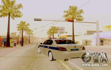 BMW M5 E60 for GTA San Andreas back left view