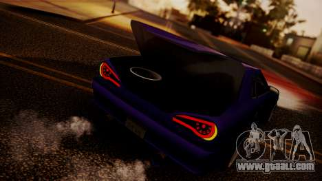 Elegy Hellcat 2.0 for GTA San Andreas inner view
