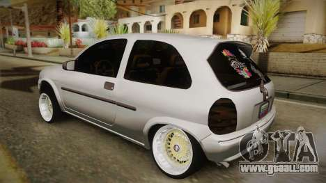 Chevrolet Corsa Camber for GTA San Andreas left view