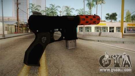 Orange Weapon 3 for GTA San Andreas second screenshot