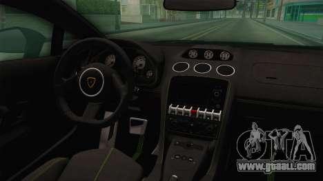 Lamborghini Gallardo Superleggera for GTA San Andreas