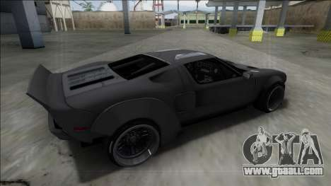 2005 Ford GT Rocket Bunny for GTA San Andreas left view