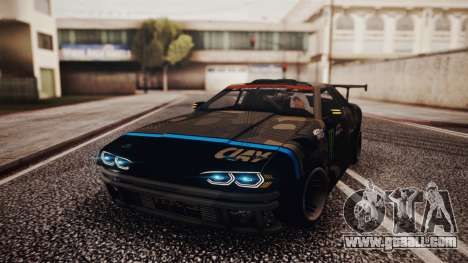 Elegy Hellcat 2.0 for GTA San Andreas wheels