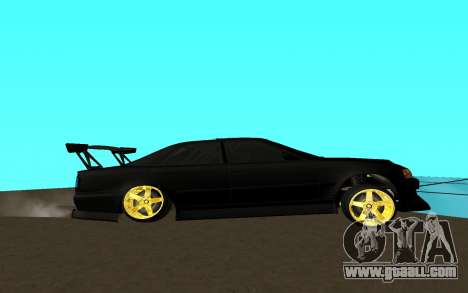 Toyota Chaser JZX 100 for GTA San Andreas left view