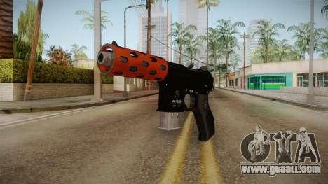 Orange Weapon 3 for GTA San Andreas