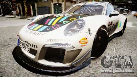 Porsche 911 GT3 Project CARS for GTA 4 right view