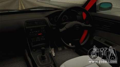 Nissan Silvia S14 Drift for GTA San Andreas inner view