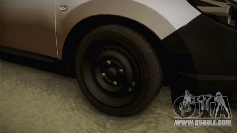 Nissan Qashqai for GTA San Andreas back view