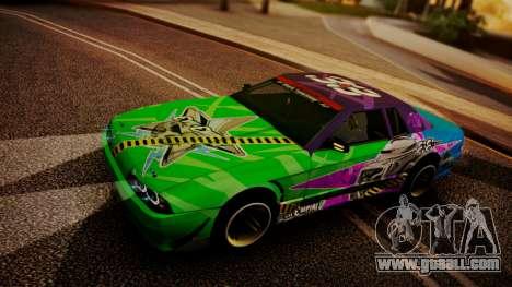 Elegy Hellcat 2.0 for GTA San Andreas upper view