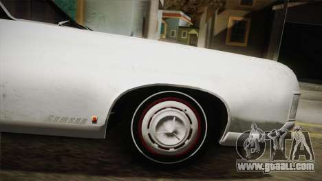 Mafia 3 - Samson Storm for GTA San Andreas back left view