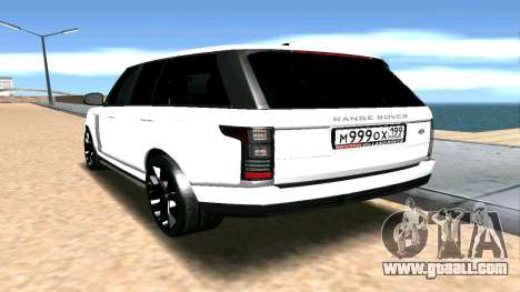 Range Rover for GTA San Andreas left view