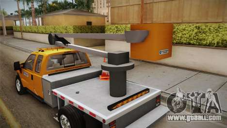 Ford F-350 2008 Cherry Picker for GTA San Andreas side view