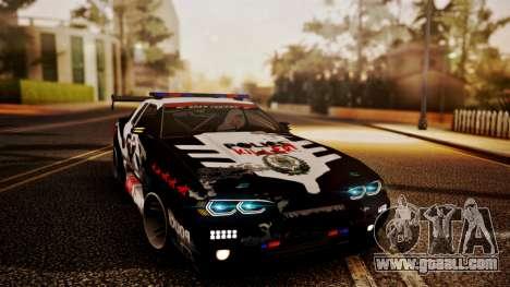Elegy Hellcat 2.0 for GTA San Andreas engine