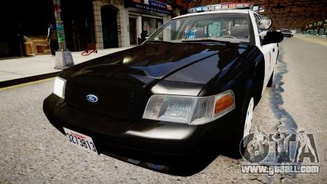 Ford Crown Victoria LAPD for GTA 4