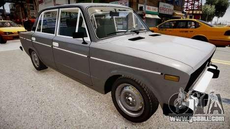 VAZ 2106 Stock for GTA 4