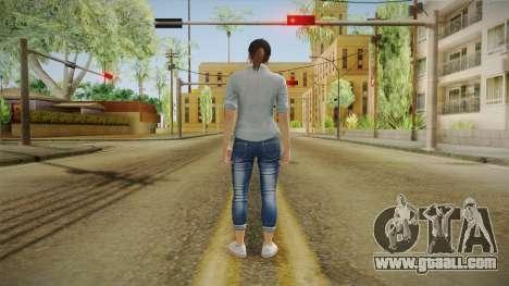 GTA 5 Online Skin Female Mail for GTA San Andreas third screenshot