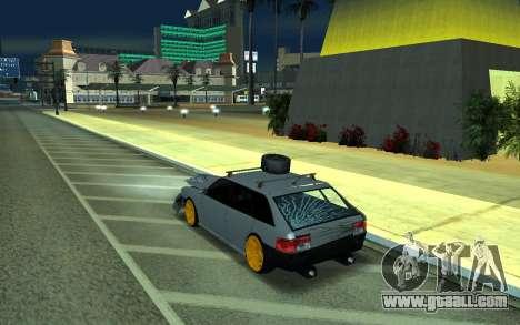 Sultan for GTA San Andreas inner view