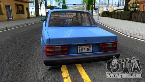 Volvo 244 Turbo 1983 for GTA San Andreas back left view