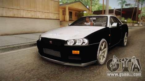 Nissan Skyline Tunable Pro Street v2 for GTA San Andreas wheels