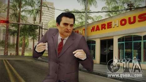 Mafia - Paulie Normal Suit for GTA San Andreas