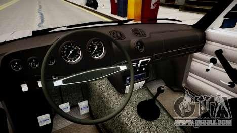 VAZ 2106 Stock for GTA 4 inner view