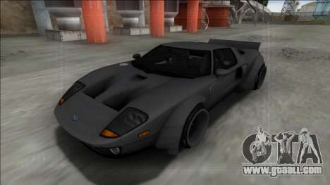 2005 Ford GT Rocket Bunny for GTA San Andreas back left view