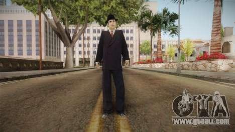 Al Capone Low Poly for GTA San Andreas second screenshot