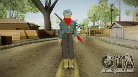DBX2 - Trunks DBS for GTA San Andreas second screenshot