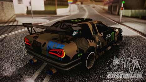 Elegy Hellcat 2.0 for GTA San Andreas bottom view