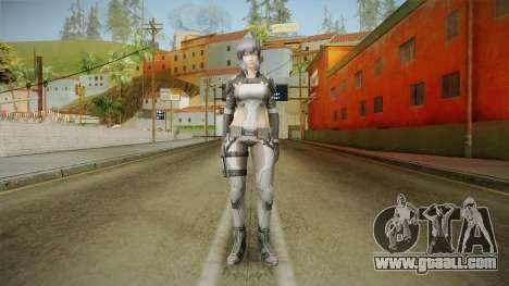 Ghost in the Shell - Motoko Kusanagi for GTA San Andreas second screenshot