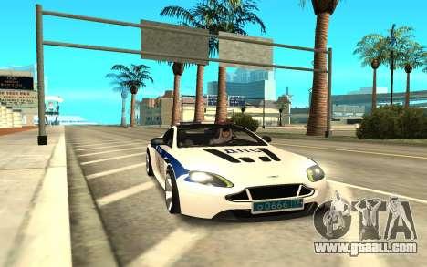 Aston Martin for GTA San Andreas